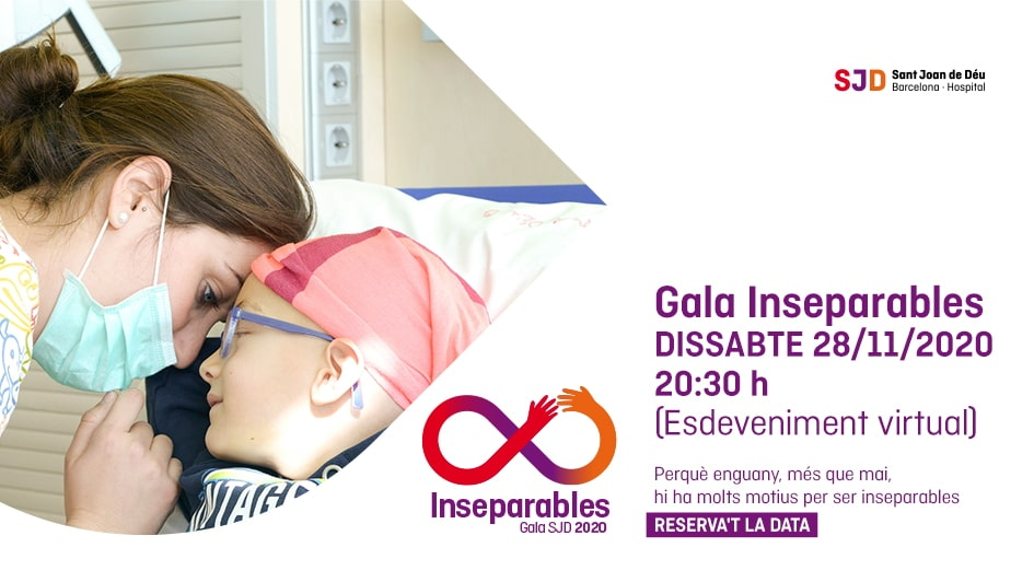 gala inseparables hospital sant joan deu barcelona